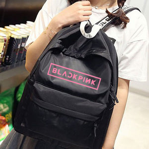 [BlackPink] Backpack, Aisuru 100%, backpack- Aisuru 100%