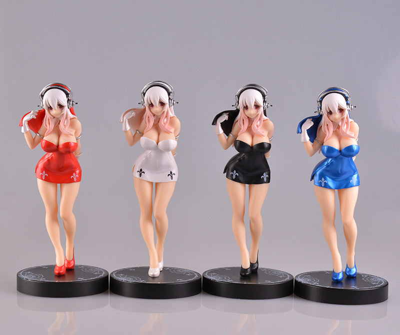 [Super Sonico] Nun Figure, Aisuru 100%, Toy- Aisuru 100%