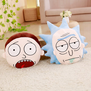 [Rick and Morty] Face Pillows