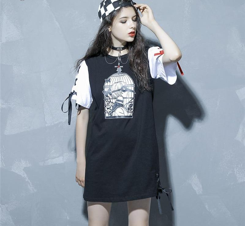 [Metamorphosis] Cotton Shirt Dress