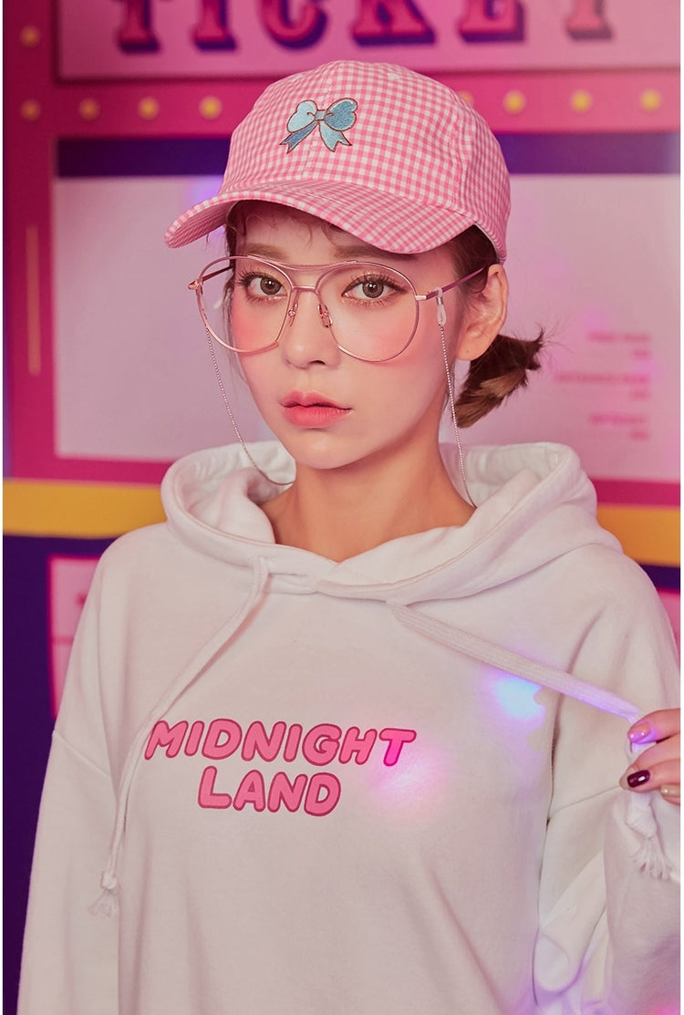[Midnight Land] Hoodie, Aisuru 100%, kawaii clothing- Aisuru 100%