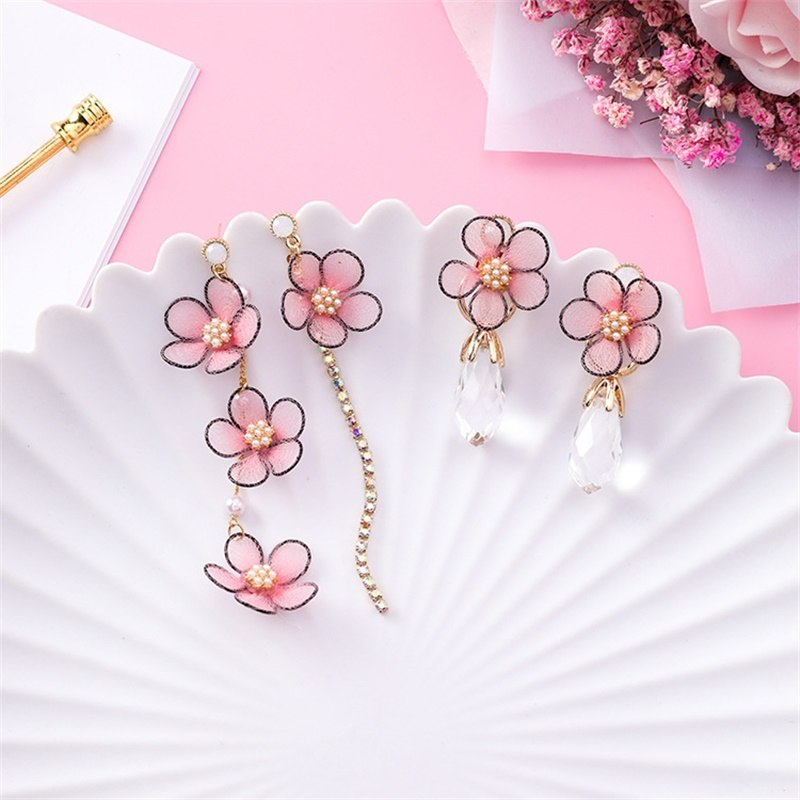 [Sakura Mochi] Earrings, Aisuru 100%, accessory- Aisuru 100%