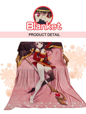 [Astolfo] Fate Grand Order Flannel Throw Blanket, Aisuru 100%, blanket- Aisuru 100%