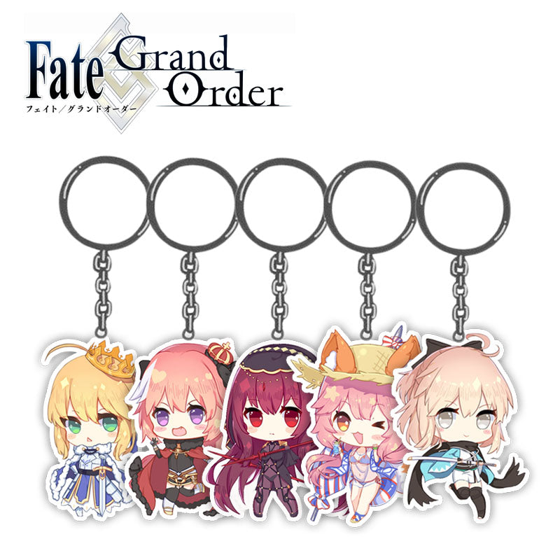 [Servant] Keychain, Aisuru 100%, Collectible- Aisuru 100%
