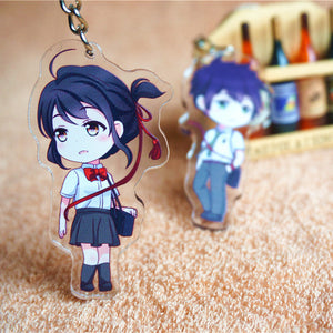 [Your Name] Couples Keychain