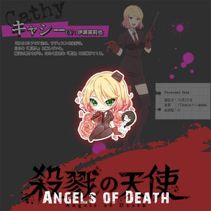[Angels of Death] Acrylic Keychain, Aisuru 100%, - Aisuru 100%