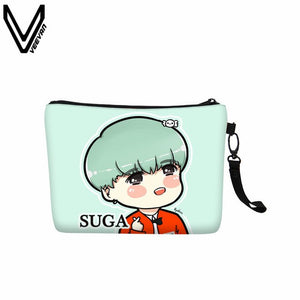 [BTS] Cosmetic Bag, Aisuru 100%, - Aisuru 100%