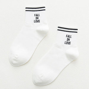 [Fall In Love] Socks, Aisuru 100%, socks- Aisuru 100%