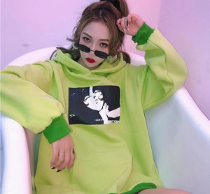 [Green Light] Cotton Hoodie