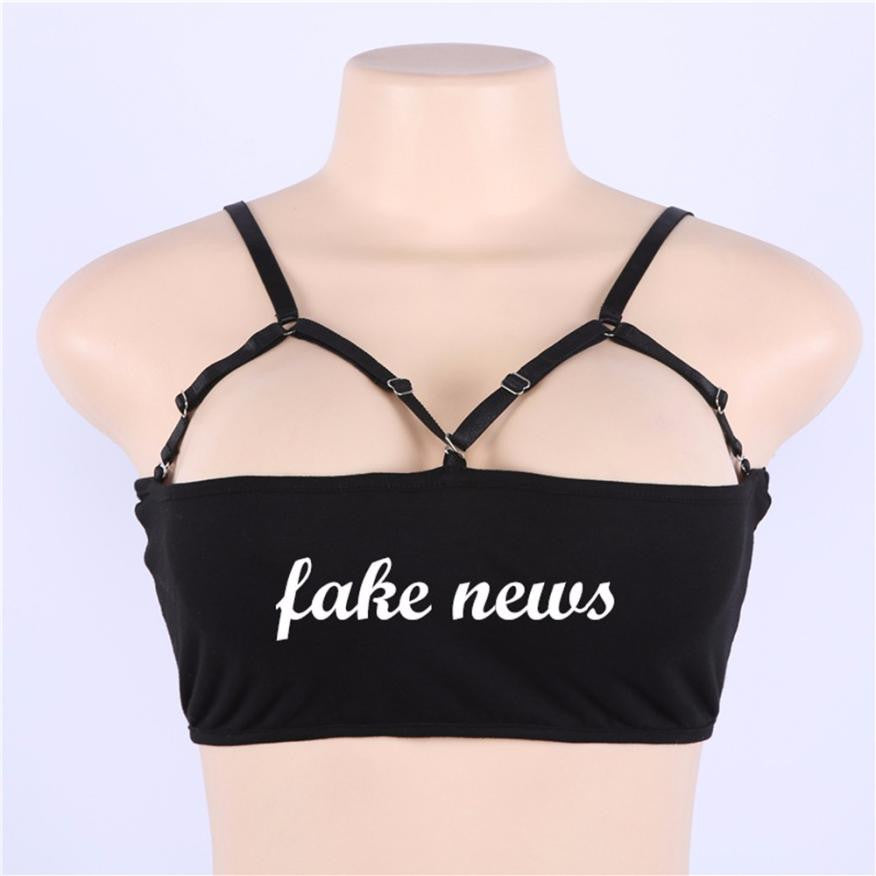 [Fake News] Crop Top, Aisuru 100%, shirt- Aisuru 100%