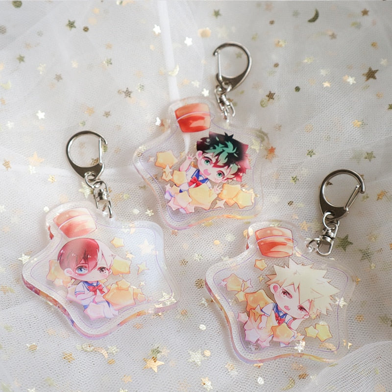 [Boku No Hero Academia] Wishing Bottle Keychains, Aisuru 100%, keychains- Aisuru 100%