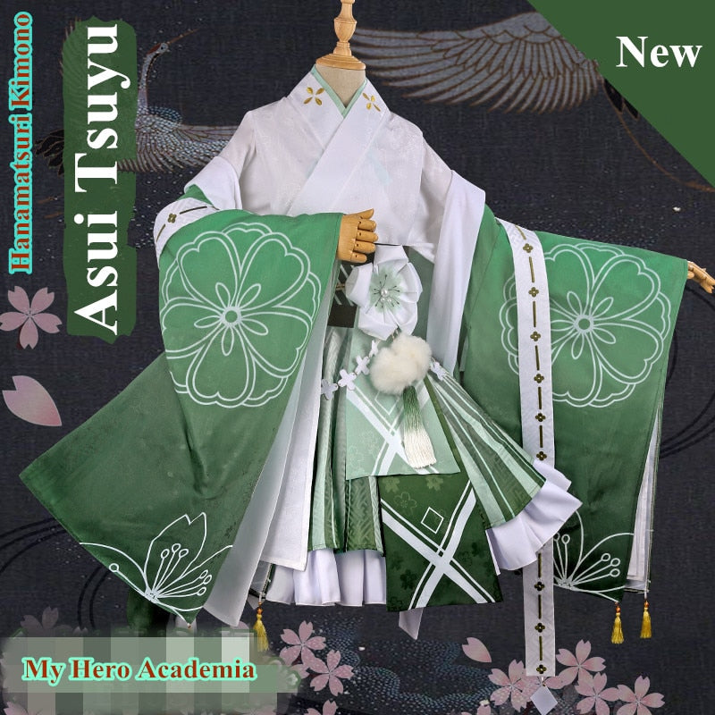 [Lotus of Joy] Asui Tsuyu Hanamatsuri Festival Cosplay Set
