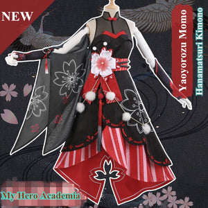 [Hidden Tradition] Yaoyorozu Momo Hanamatsuri Cosplay Set