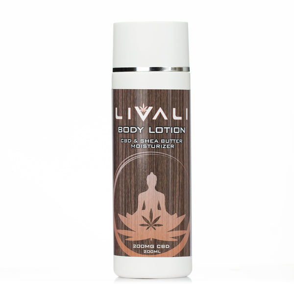 CBD Body Lotion by Livali - 200mg CBD