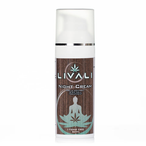 CBD Night Cream by Livali - 175mg CBD