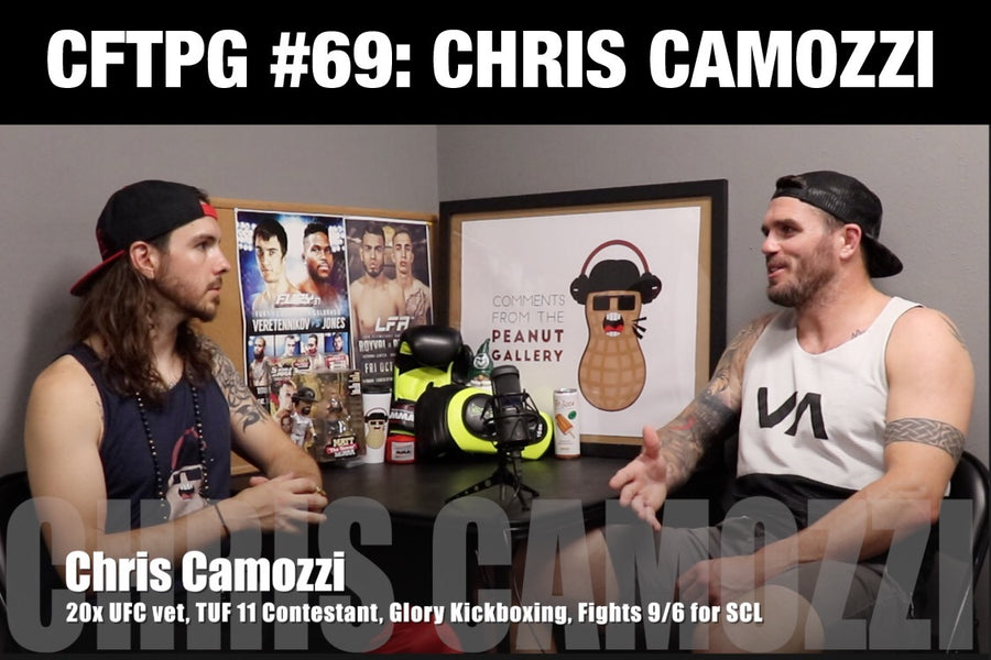 Comments From The Peanut Gallery #69: Chris Camozzi