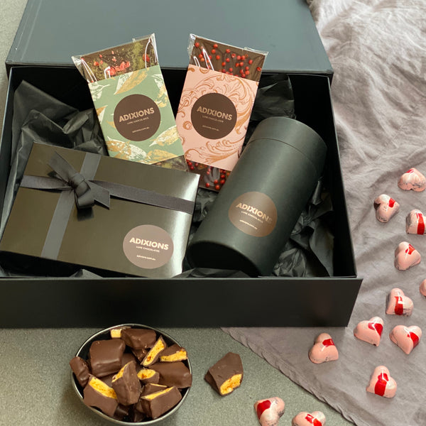 Valentines Day is best shared with Adixions Chocolates!