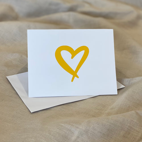 Heart Gift Card with Envelope