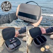LARGE Lockable Stash Bag - With 2 Jars & Doob Tube