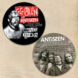 "GG Allin and Antiseen 12"" Vinyl Picture Disc"