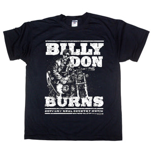 Billy Don Burns - Born To Ride Mens Tshirt