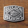 Billy Don Burns Belt Buckle