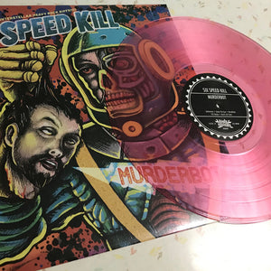 "Six Speed Kill - Call Me Bronco - Split 12"" Vinyl Record"