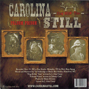 "Carolina Still - Hog Killin' Time - 7"" Vinyl Record"