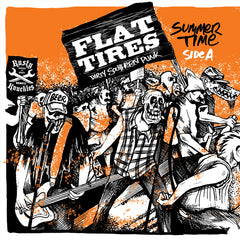 "Flat Tires - History Repeated - Split 7"" Vinyl"