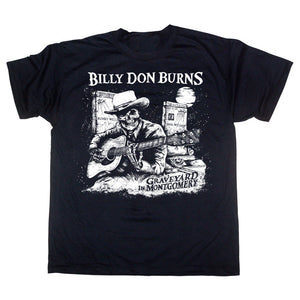 Billy Don Burns - Graveyard In Montgomery - Mens Tshirt
