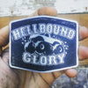 Hellbound Glory Aluminum Belt Buckle