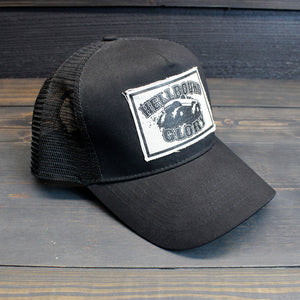 Hellbound Glory - Monster Truck Black Trucker Hat