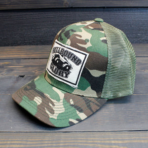Hellbound Glory - Camo Trucker Hat
