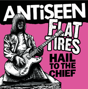 Antiseen - Flat Tires - Split Vinyl - Covering The Ramones