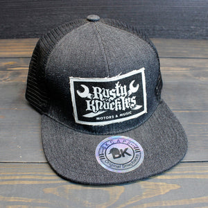 Rusty Knuckles - Denim Trucker Hat