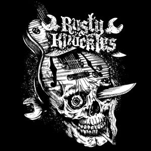 Rusty Knuckles - Live Wire - Mens Tshirt