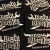 Rusty Knuckles Wrench Knives Logo Patch - American Roots