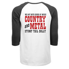 Stump Tail Dolly - Both Kinds Of Music - Mens 3/4 Sleeve Shirt