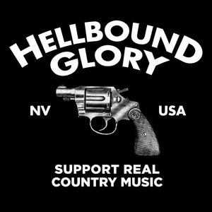 Hellbound Glory - Support Real Country Music - Mens Tshirt