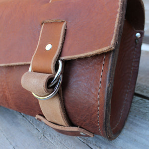 Motorcycle Tool Bag In Heavyweight Leather