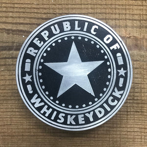 Whiskeydick - Republic Of - Belt Buckle