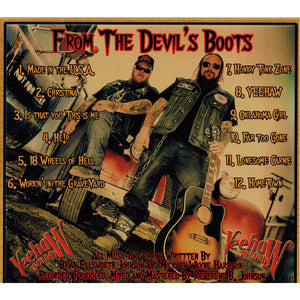 Whiskeydick - From The Devil's Boot - CD