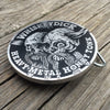 Whiskeydick Texas Skull Belt Buckle