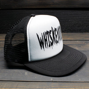 Whiskeydick White Logo Hat