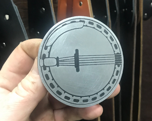 Banjo Belt Buckle