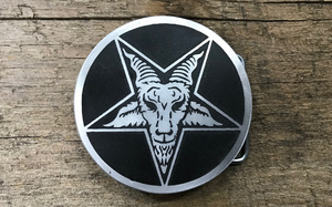 Baphomet Belt Buckle