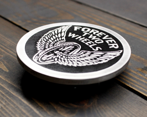 Forever Two Wheels Belt Buckle