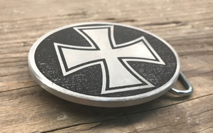 Iron Cross Belt Buckle