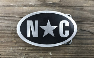 North Carolina Belt Buckle