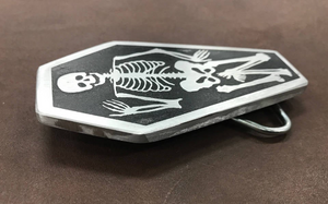 Skeleton Belt Buckle